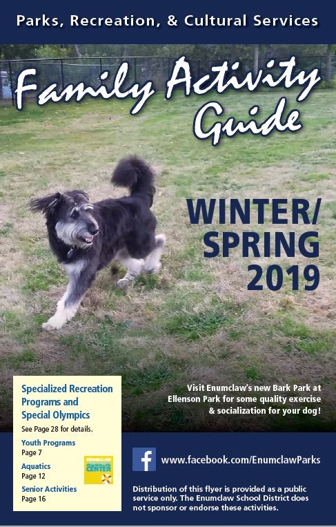 2019 Family Activity Guide Winter/Spring