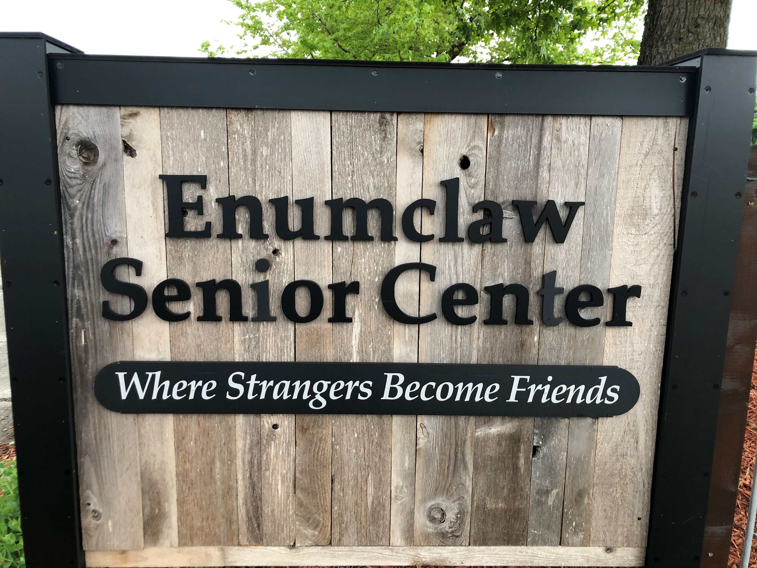 Senior Center Sign